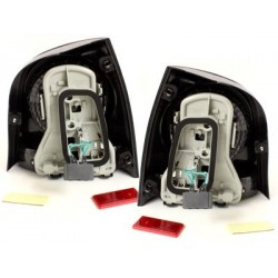 LED taillights VW Polo 9N 3+5d 11.01-05.09_black/smoke