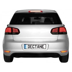 LED taillights VW Golf VI_without LED indicator_red/smoke