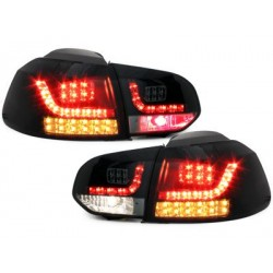 LED taillights VW Golf VI_LED indicator_black/smoke