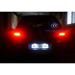 Pack LED plaque arrière VW Touareg / Tiguan, Porsche Cayenne (type D) - BLANC 6000K