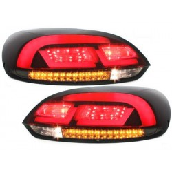 LITEC LED taillights VW SCIROCCO III 08-10 red/smoke