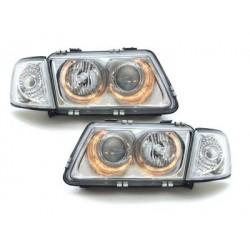 headlights AUDI A3 8L 09.96-08.00_2 halo rims_chrome