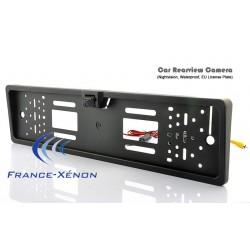 Backup camera license plate