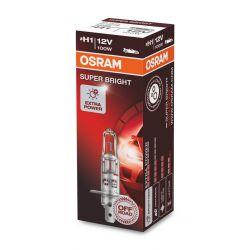 1x H1 100W OSRAM SUPER BRIGHT 64152SB 12V PX14.5S
