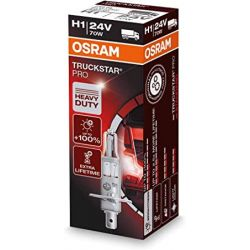 1x H1 24V 70W OSRAM TRUCKSTAR PRO 64155TSP P14.5s