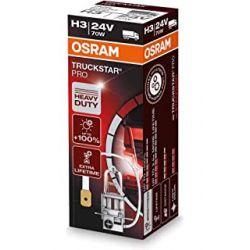 1X H3 24V 70W OSRAM TRUCKSTAR PRO 64156TSP PK22s