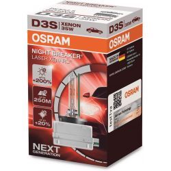 1x OSRAM XENARC NIGHT BREAKER LASER D3S HID Xenon Bulb Discharge lamp, 66340XNL