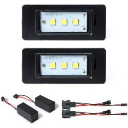 Pack Rückenplatte Module VAG AUDI A4 B8, A5 und Q5 - 3 SMD LEDs