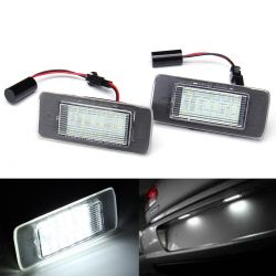 LED License plate OPEL Astra J Tourer, Zafira C - BLANC 6000K
