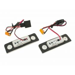License plate LED SET for Skoda octavia 2 (1Z) , Roomster (5J) - BLANC 6000K