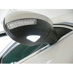 Pack 2 LED lights coming home under mirror Golf 6