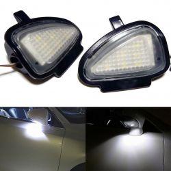 Pack 2 LED-Leuchten zu Hause Spiegel Golf 6 kommt