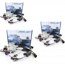 Pack FULL Xénon 206 - croisement + phare + anti-brouillard