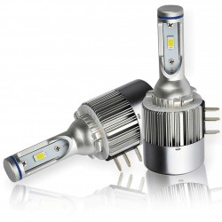 2 x 38w bulbs h15 v2 proled - 5500lm - upscale