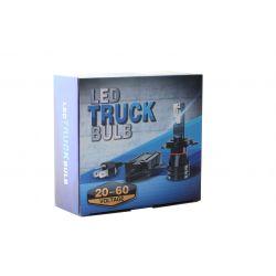 Faro specifico Bi-LED H4 Truck 24 Volt - 6000Lms - Alta potenza