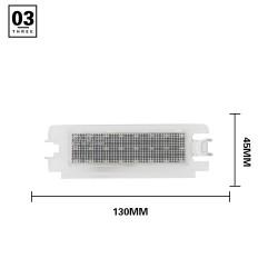 Modulo piastra posteriore LED Dacia Logan 2 e Sandero 2 - Sostituisce 7700433414