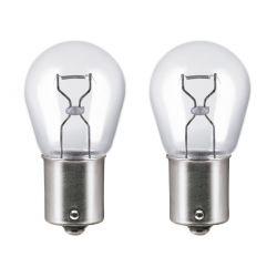 2 x Bulbs BA15S  P21W 12V  Standard 1156
