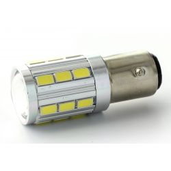 2x Ampoules 21 LED SG - PY21W - Blanc Pur 5000K