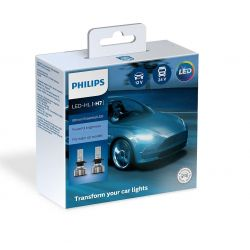 2x H7 Philips Ultinon Essential LED 11972UE2X2