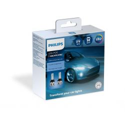 2x H8 H9 H11 H16 Philips Ultinon Essential LED 11366UE2X2