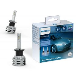 2x H1 Philips Ultinon Essential LED 11258UE2X2