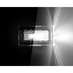 Pack 2 TESLA LED Innen- / Kofferraumleuchten - PURE WHITE High Power