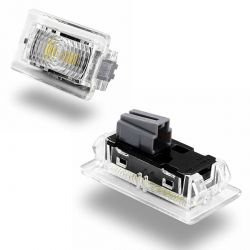 Pack 2 TESLA LED interior / trunk lights - PURE WHITE High Power