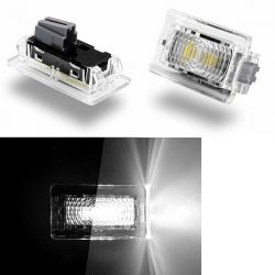 Pack 2 TESLA LED Innen- / Kofferraumleuchten - PURE WHITE High Power