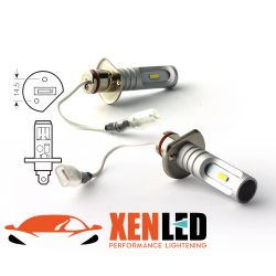 2 LED bulbs H1 - 1600Lms - LED 1860 - White color