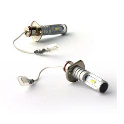 2 lampadine a LED H1 - 1600Lms - LED 1860 - Colore bianco