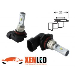 2 LED-Lampen HB4 9006 - 1600Lms - LED 1860 - Weiße Farbe