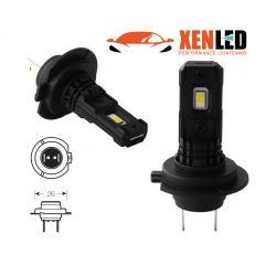 2 x Ampoules LED H7 Black Series 5000K 880Lms - Haut de Gamme - Antibrouillard / Feux de jour