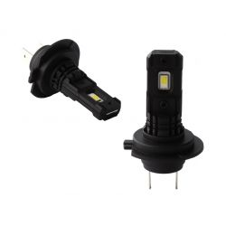 2 x LED Bulbs H7 Black Series 5000K 880Lms - High End - Fog / Daytime Running Lights