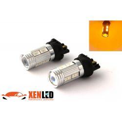 Ampoule PWY24W 10 LED SG ORANGE pour clignotant - Haut de Gamme