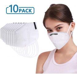 Box of 10 masks KN95 Respiratory Protection (equ. FFP2) N95 - Filtration - 10 units