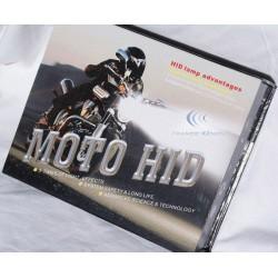 H4 Bi-Xenon - 6000 ° K - Ballast Slim - moto