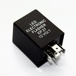 Relè EP27 Lampeggiante LED 12V Flasher Auto Moto