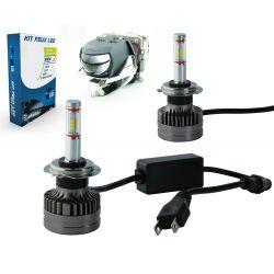 LED-Lampen-Kit H7 XS9 60W 5200Lms Premium-LED-Pro - Objektivdesign