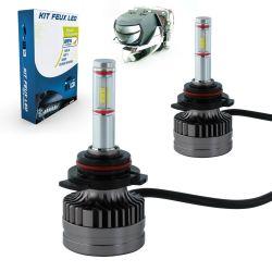 LED Bulbs Kit 9012 HIR2 XS9 60W 5200Lms Premium LED Pro - Lens Design