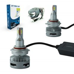 Kit 2 LED Bulbs HIR2 9012 N26 45W 11600Lms LED Pro - Lenticular Design