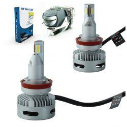 Kit 2 lampadine a LED H11 N26 45W 11600Lms LED Pro - Design lenticolare