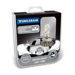 LED HB3 12V 24W P20d Megalight LED +200 6000K 2St Tungsram 60530 PB2