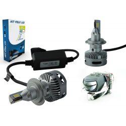 Kit 2 LED-Lampen H7 N26 45W 11600Lms LED Pro - Lentikulares Design