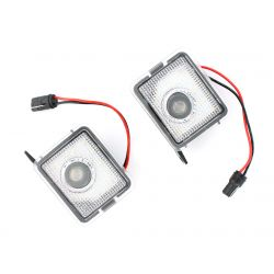 2x Lighting + Coming Home Logo - Ford Focus C-max Kuga Escape Mondeo