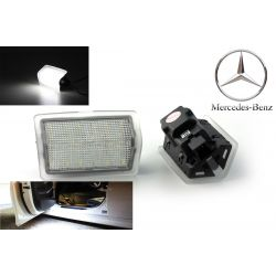 Pack 2 door lighting LED modules MERCEDES Classe A, Classe B, Classe C, Classe E, Classe M