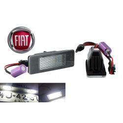 Pack 2 LED license plate Fiat Ulysse / Scudo