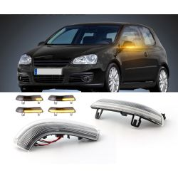 Dynamic LED Flashing Blinker Repeaters GOLF V 5 Volkswagen