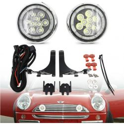 Daytime running lights + Long range Mini FULL LED R50 R52 R53 2001 - 2006