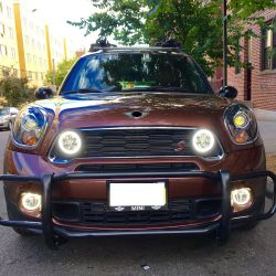 Daytime running lights + Long range Mini FULL LED F55 F56 F56 2014 - 2016