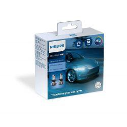 2x H4 Philips Ultinon Essential LED Gen2 Front light bulb 11342UE2X2